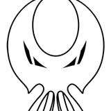 Evil Inc, Die-cut Sticker Design